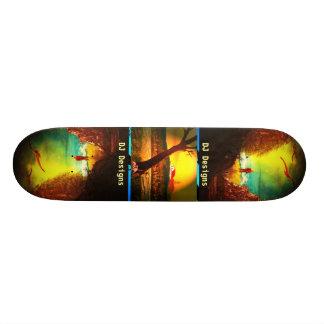 DJ entwirft Skateboard Skateboardbretter
