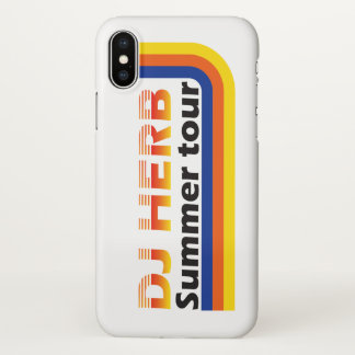 DJ-Kraut-Sommer-Ausflug iPhone X Hülle