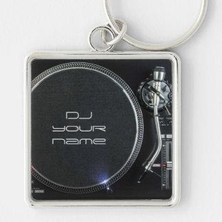 DJ-Turntable keychain Schlüsselanhänger