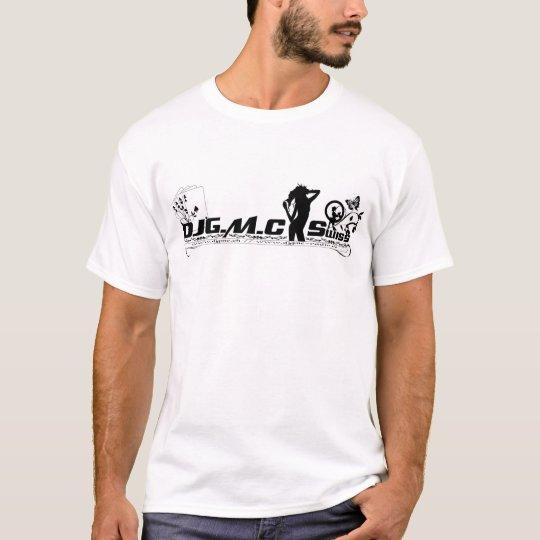 DJGMC-Swiss - BW Logo T-Shirt