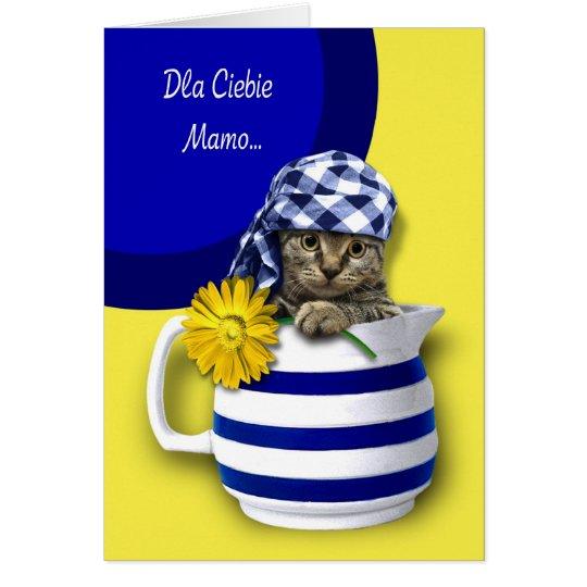 Dla Ciebie Mamo. Polnische Karten der Mutter Tages
