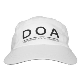DOA Gewohnheit gesponnene Leistungs-Kappe Headsweats Kappe
