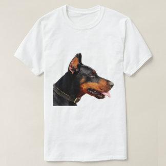 Dobermann-Hundehaustier T-Shirt