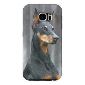 Dobermann-Samsung-Galaxie S6, stark