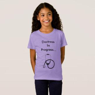 Doctresss laufender T - Shirt für Mädchen