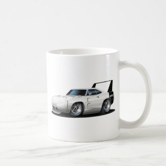 Dodge Daytona Weiß-Auto Kaffeetasse