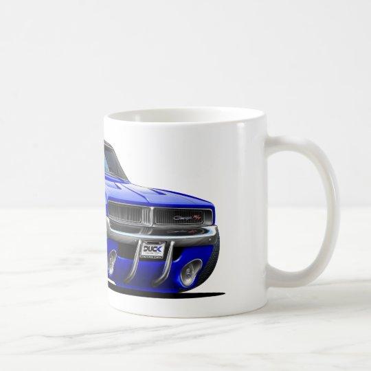 Dodge-Ladegerät-Blau-Auto Kaffeetasse