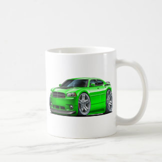 Dodge-Ladegerät Daytona grünes Auto Kaffeetasse