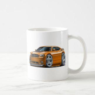 Dodge-Ladegerät Daytona Orangen-Auto Kaffeetasse