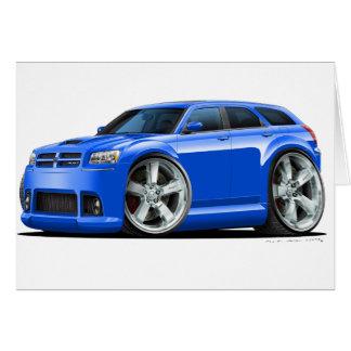 Dodge-Magnum-Blau-Auto Karte