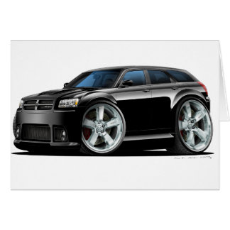Dodge-Magnum-Schwarz-Auto Karte