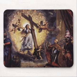 Doge Antonio Grimani de Titian- se mettant à genou Tapis De Souris
