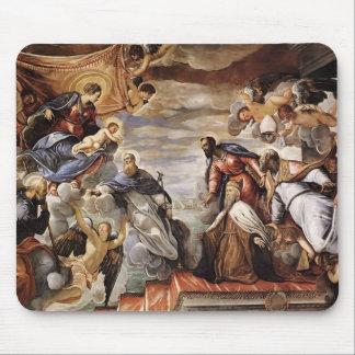Doge de Tintoretto- appelant la protection de la V Tapis De Souris