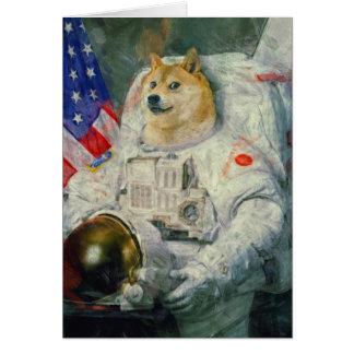 Doge-Grußkarte Karte