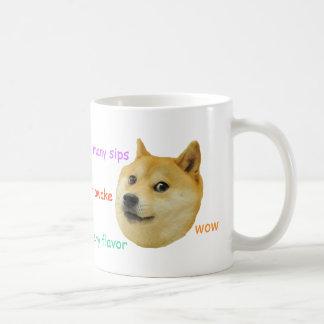 Doge-Kaffee-Tasse Tasse