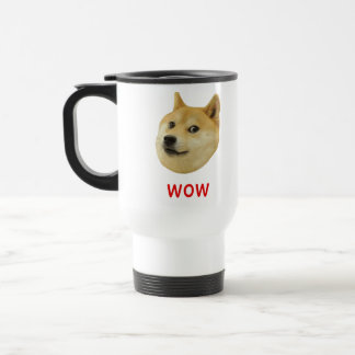 Doge sehr wow viel Hund solches Shiba Shibe Inu Edelstahl Thermotasse