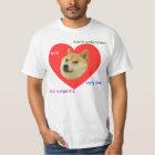 Doge viel Valentinstag-sehr Liebe so romantisch T-Shirt