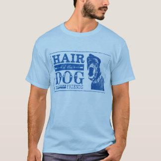 Dogge-Freund-Haar des Hundes T-Shirt