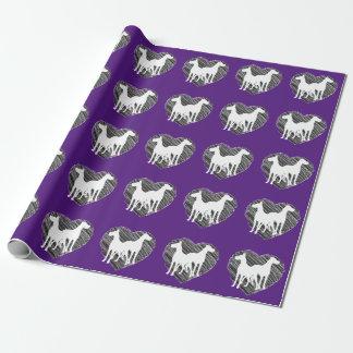 Dogge-Freund-Packpapier Geschenkpapierrolle