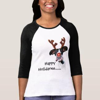 Dogge-Freunde Holidane T-Shirt