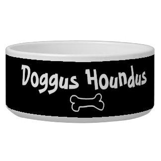 Doggus Houndus kundengerechte Hundeschüssel für Napf