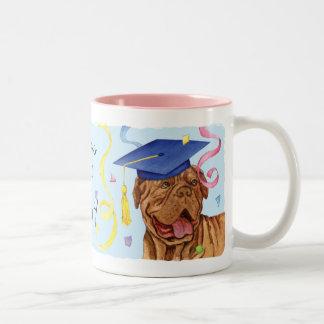 Dogue de Bordeaux Graduate Zweifarbige Tasse