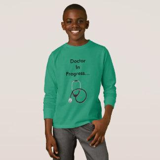 Doktor laufender T - Shirt für Jungen