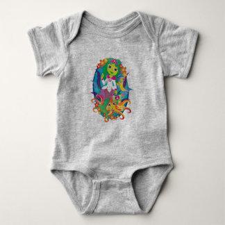 Doktor - Prinzessin - Meerjungfrau in den Baby Strampler