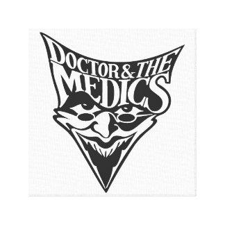 Doktor und der Mediziner-Leinwand-Druck Leinwanddruck