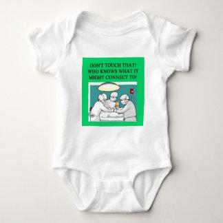Doktorarzt-Chirurgwitz Baby Strampler