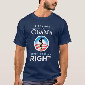 Doktoren für Obama-T - Shirt - Marine