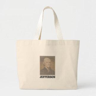 dokumentiertes Jefferson Jumbo Stoffbeutel