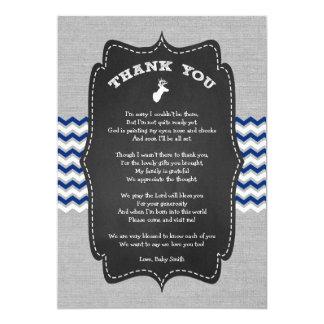 Dollar-Babyparty danken Ihnen, mit Gedicht zu 12,7 X 17,8 Cm Einladungskarte