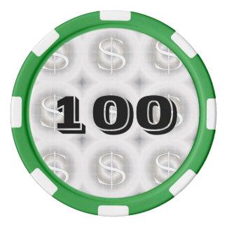 $-Dollar Poker Chips