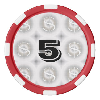 $-Dollar Poker Jetons