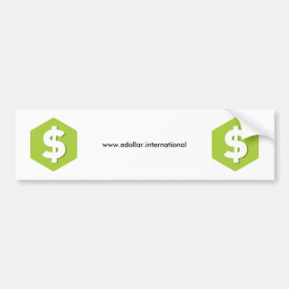 DOLLAR-Produkte Autoaufkleber