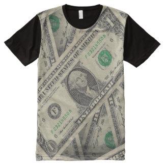 Dollar T-Shirt Mit Bedruckbarer Vorderseite