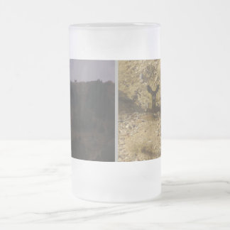 Dollar tut mattierte 16 Unze-Glas-Tasse Mattglas Bierglas