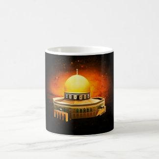 dom der Steinmoschee, (Jerusalem) Kaffeetasse