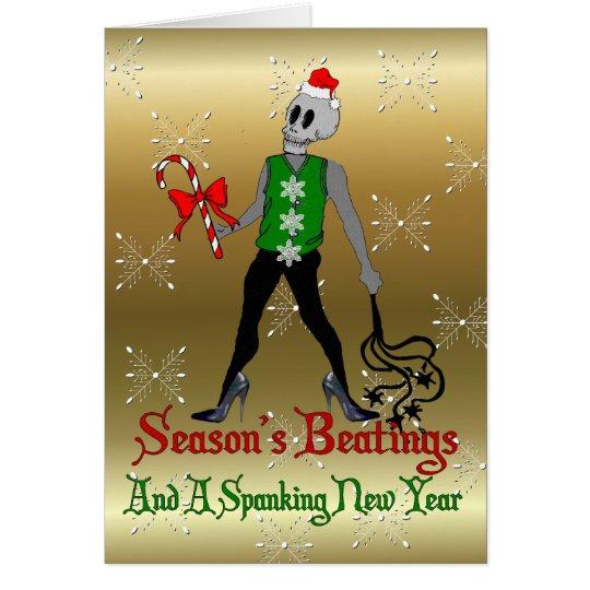 Dom-Weihnachtsfee Grußkarte