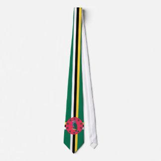 Dominica-Flaggen-Krawatte Bedruckte Krawatte