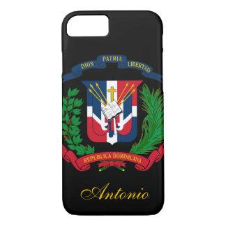 Dominikanische Republik-Flagge iPhone 7 Hülle