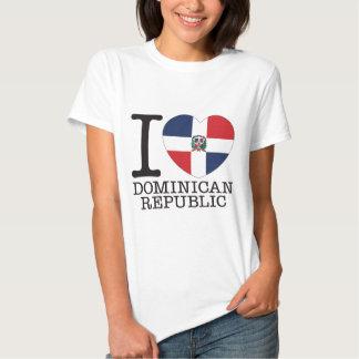 Dominikanische Republik-Liebe v2 Hemd