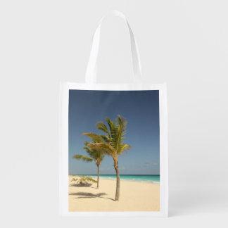 Dominikanische Republik-tropischer Strand Wiederverwendbare Einkaufstasche