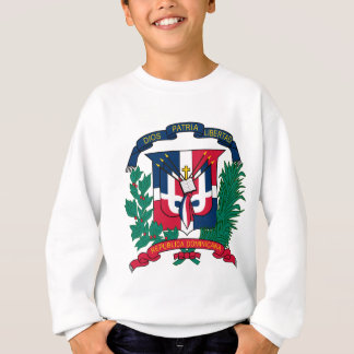 Dominikanische Republik-Wappen Detail Sweatshirt
