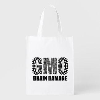 Dommage au cerveau de GMO Cabas Épicerie