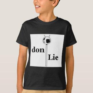 Don-Lüge Fernsehen T-Shirt