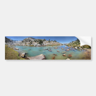 Donahue Pass See - Yosemite Autoaufkleber