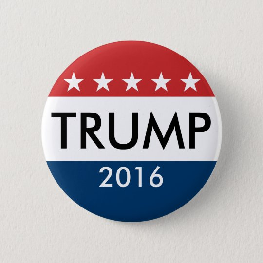 Donald Trump 2016 Runder Button 5,1 Cm