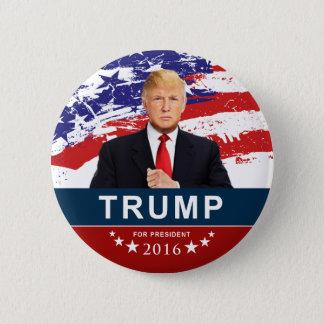 """Donald Trump für Präsidenten 2016 2"""" runder Knopf Runder Button 5,1 Cm"""